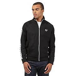 Fred Perry - Black logo strip jacket