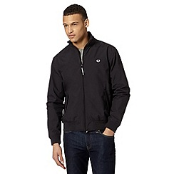 Fred Perry - Black sailing jacket