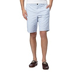 Ben Sherman - Blue fine striped shorts