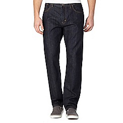 BEN SHERMAN - Dark blue slim fit jeans