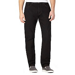 BEN SHERMAN - Black slim fit jeans