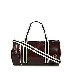 Fred Perry - Wine classic barrel bag