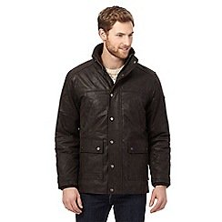 Barneys - Big and tall dark brown car coat