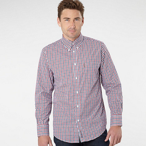 Ben Sherman - Red checked shirt