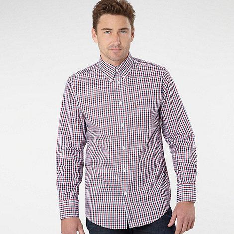 Ben Sherman - Big and tall red checked shirt