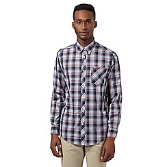Ben Sherman - Big and tall red large checked shirt