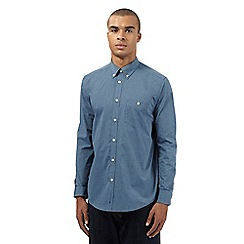 Ben Sherman - Big and tall blue easy fit chambray shirt