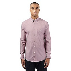 Ben Sherman - Big and tall red easy fit shirt