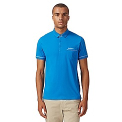 Ben Sherman - Blue gingham trim polo shirt