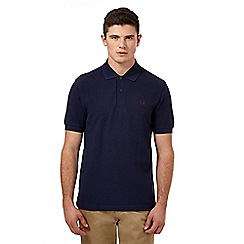 Fred Perry - Navy logo polo regular fit shirt