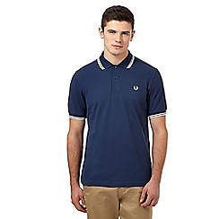 Fred Perry - Blue tipped polo regular fit shirt