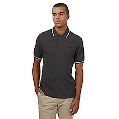 Fred Perry - Dark grey polo shirt