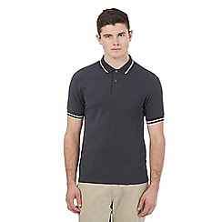 Fred Perry - Grey stripe detail polo shirt