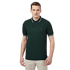 Fred Perry - Green slim fit polo shirt