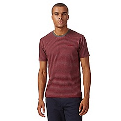 Ben Sherman - Red striped t-shirt