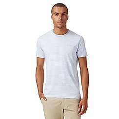 Ben Sherman - Light blue striped t-shirt