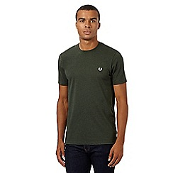 Fred Perry - Green plain regular fit t-shirt