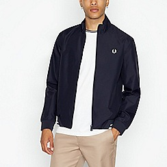 Fred Perry - Navy striped crew neck t-shirt