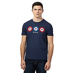 Ben Sherman - Big and tall blue target design top