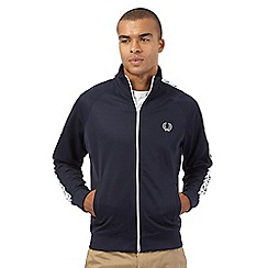 Trespass - Navy laurel detail zip jacket