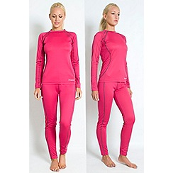 Trespass - Pink 'Glees' baselayer