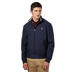 Fred Perry - Navy logo jacket