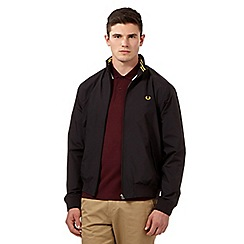 Fred Perry - Black logo jacket