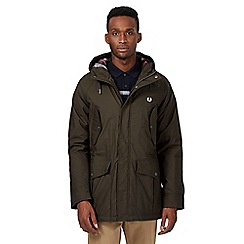 Fred Perry - Green hooded coat