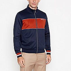 Fred Perry - Navy hooded coat