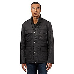 Ben Sherman - Big and tall black coated jacket