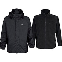 Trespass - Black 'Brano' jacket