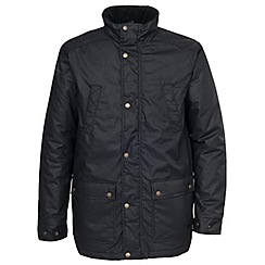 Trespass - Black rewax jacket