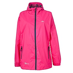 Trespass - Pink qikpac jacket