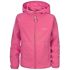 Trespass - Pink snozzle fleece