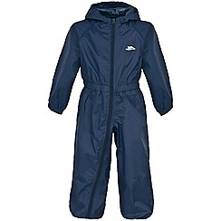 Trespass - Blue button rain suit