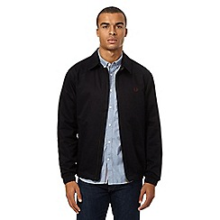 Fred Perry - Navy 'Caban' Harrington jacket