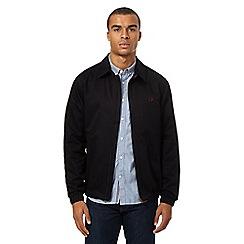 Fred Perry - Navy 'Caban' Harrington jacket