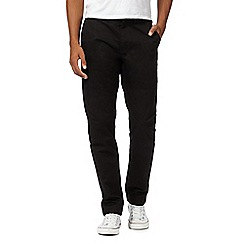 Fred Perry - Black twill chinos