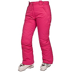 Trespass - Pink 'Lohan' ski trousers