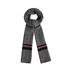Fred Perry - Grey tipped scarf