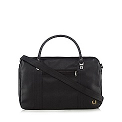 Fred Perry - Black grained holdall bag