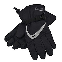 Trespass - Black 'Reunited' glove