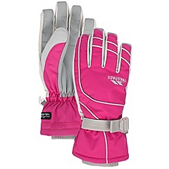 Trespass - Pink 'Vizza' gloves
