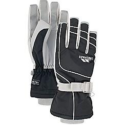 Trespass - Black 'Vizza' gloves