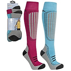 Trespass - Pink 'Janus' ski socks
