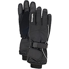 Trespass - Black 'Ergon' gloves
