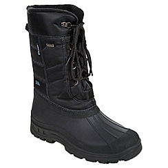 Trespass - Black 'Straiton' snow boot