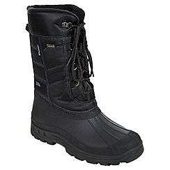 Trespass - Black 'Straiton' snow boot