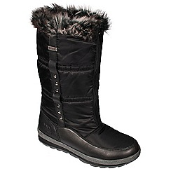Trespass - Black 'Virgo' snow boot