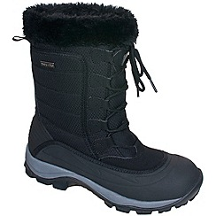 Trespass - Black 'Stalagmite' snow boot